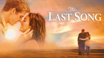 Netflix box art for The Last Song
