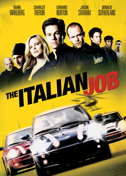 The Italian Job Netflix BR (Brazil)