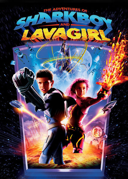 The Adventures of Sharkboy and Lavagirl Netflix CO (Colombia)