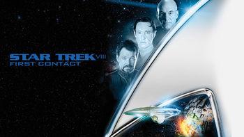 Netflix box art for Star Trek: First Contact