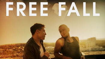 Netflix box art for Free Fall