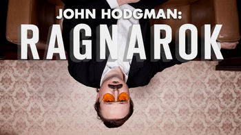 Netflix box art for John Hodgman: RAGNAROK