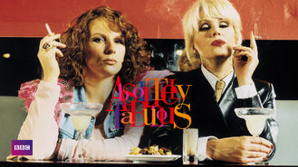 Netflix box art for Absolutely Fabulous - Series 1