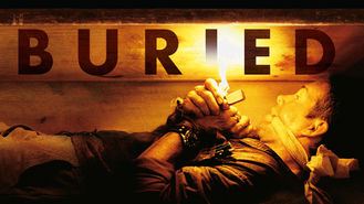 Netflix box art for Buried