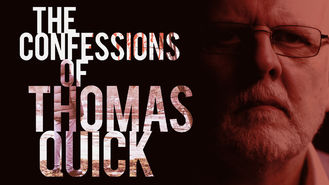Netflix box art for The Confessions of Thomas Quick