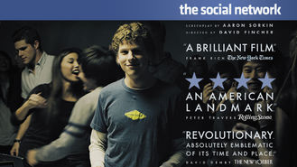 Is The Social Network on Netflix?