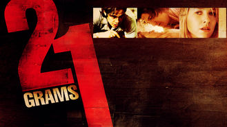 Netflix box art for 21 Grams