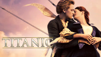 Netflix box art for Titanic