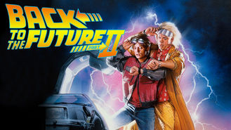 Netflix box art for Back to the Future Part II